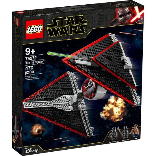 LEGO Star Wars Sith TIE Fighter 75272 Collectible Building Kit image number null
