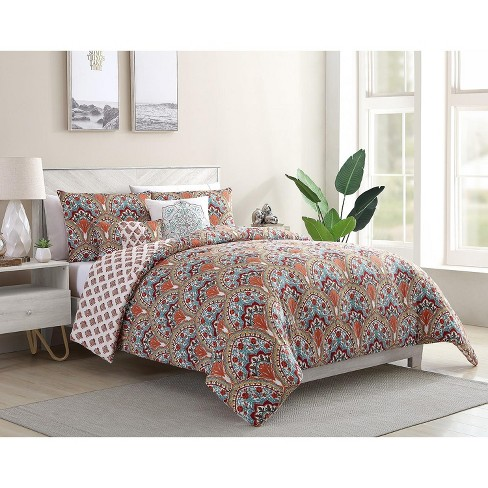VCNY Home Paiten Reversible Damask Comforter Set - image 1 of 4