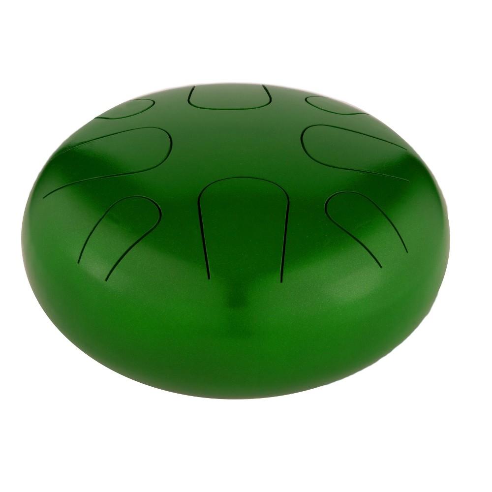 Pearl Awakening Series 8 Note, A Minor Tongue Drum - Green Burst (PMTD8AM689)