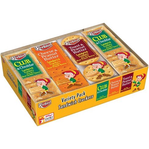 Keebler Variety Pack Sandwich Crackers - 8ct - image 1 of 6