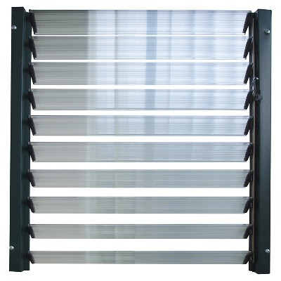 Side Louver Window - Silver - Rion