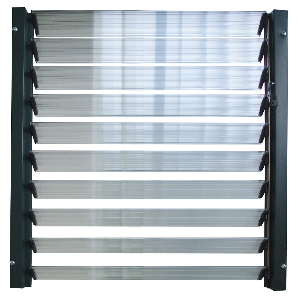 Image of Side Louver Window - Silver - Rion
