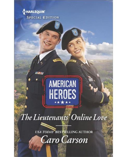 Lieutenants' Online Love -  (Harlequin Special Edition) by Caro Carson (Paperback) - image 1 of 1