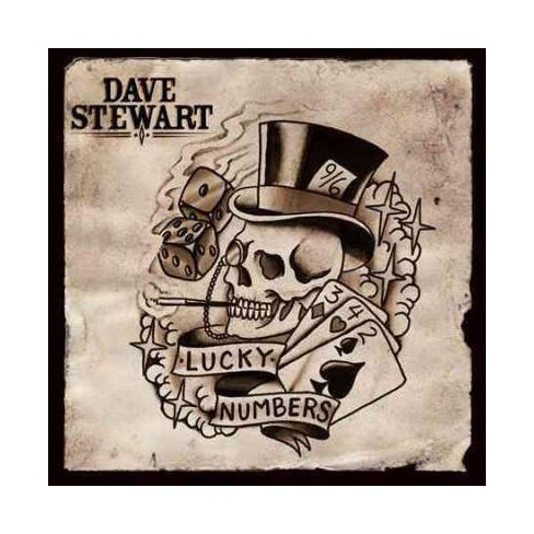 Dave Stewart - Lucky Numbers (CD) - image 1 of 1
