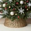 26in Split Willow Christmas Tree Collar - Wondershop™ - image 2 of 2