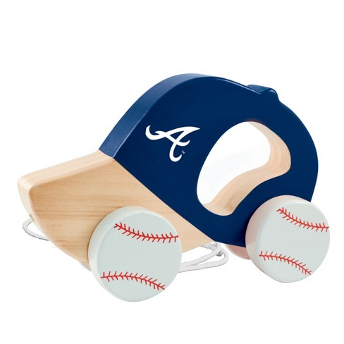 MLB Atlanta Braves Push Pull Baby Toy - image 1 of 2