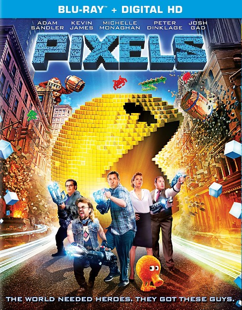 Pixels Blu-ray - image 1 of 1