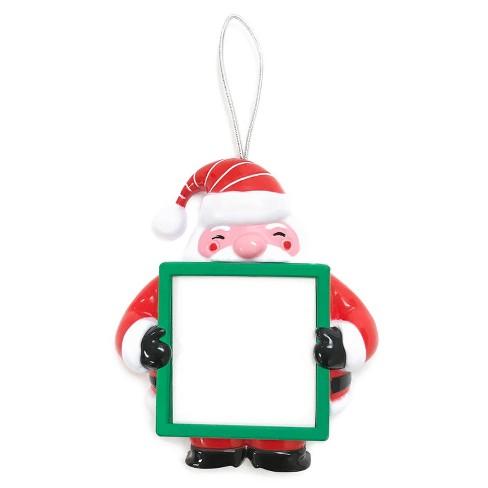 Voice Recorder Santa Frame Christmas Ornament - Wondershop™ : Target