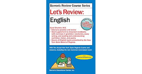 Let's Review : English (Revised) (Paperback) (Carol Chaitkin) - image 1 of 1