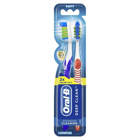 Oral-B Complete Deep Clean Toothbrush Soft - 2ct - image 1 of 2