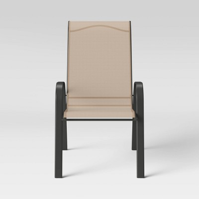 Sling Stacking Patio Chair - Tan - Room Essentials™