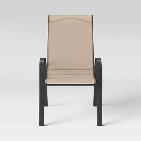 Sling Stacking Patio Chair Room