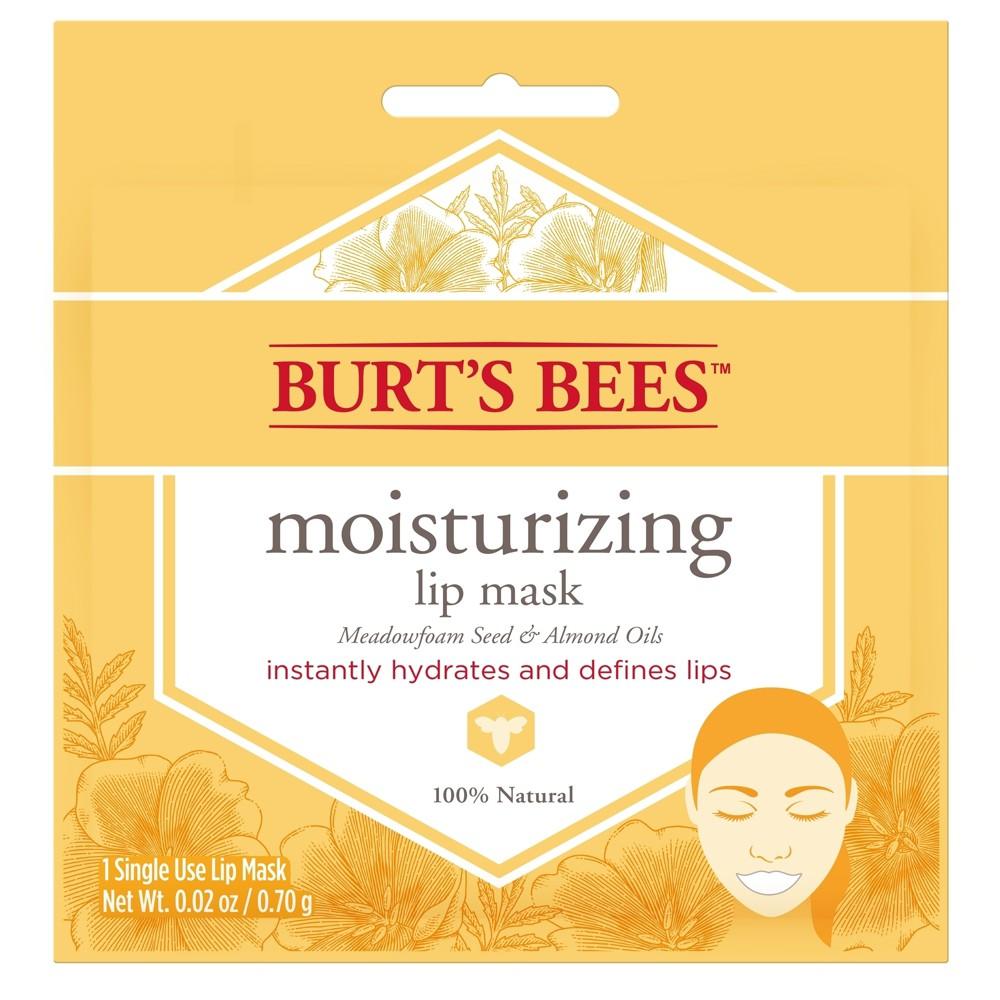 Burt 39 s Bees Lip Mask Meadowfoam Seed and Almond Oils 1ct 0 02oz
