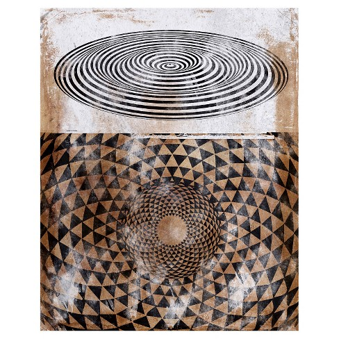 Hypnotic Abstractions Hovering Unframed Wall Canvas Art - (24X30) - image 1 of 1
