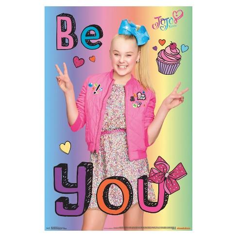 JoJo Siwa Be You Poster 34x22 - Trends International