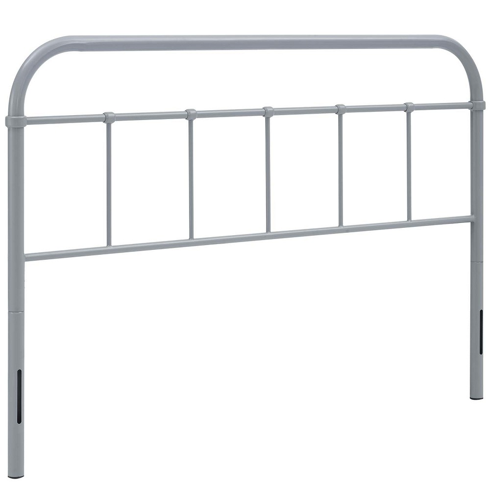 Serena Full Steel Headboard Gray - Modway