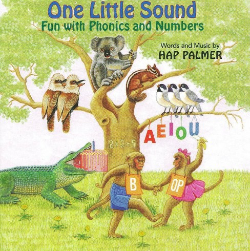 Hap palmer - One little sound:Fun with phonics (CD) - image 1 of 1