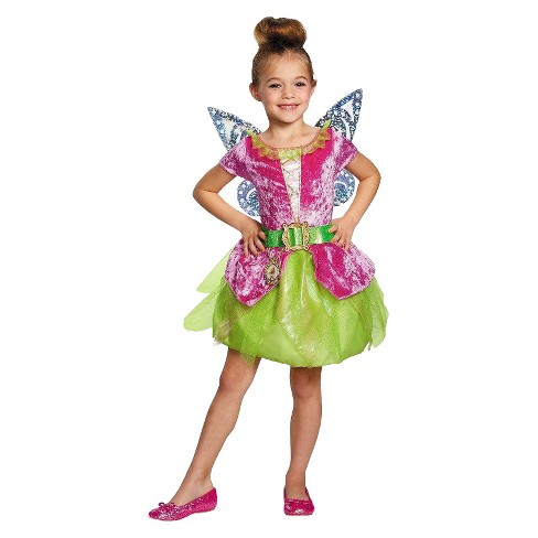 fac1613c276 Disney Tinkerbell and The Pirate Fairy Girls' Pirate Tinkerbell Costume