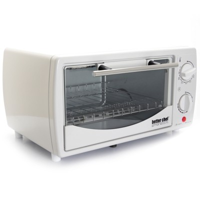 Better Chef 9 Liter Toaster Oven Broiler in White