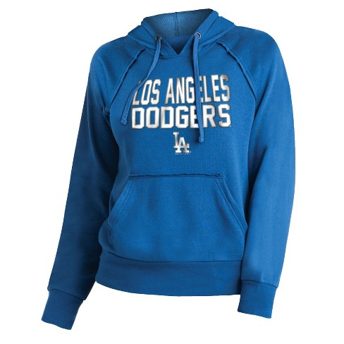 Mlb Los Angeles Dodgers Womens 7th Inning Stretch Hoodie Target