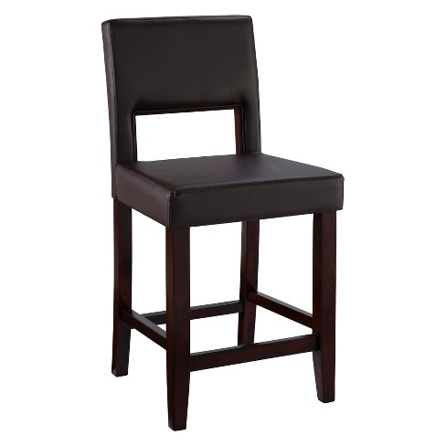 "Linon Vega 24"" Counter Stool Hardwood - Linon Home Décor - image 1 of 4"