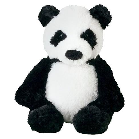 Melissa Doug Bamboo Panda Bear Stuffed Animal Target
