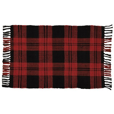 2'x3' Rectangle Accent Rug Red - Park Designs