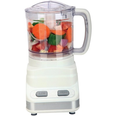 Brentwood 3-Cup Food Processor in White
