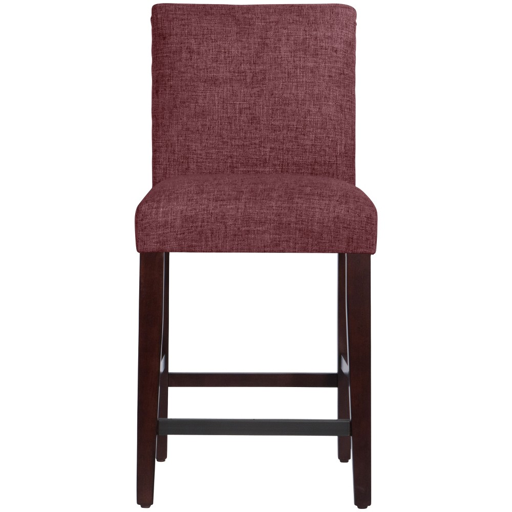 Parsons Counter Height Barstool Wine Linen - Threshold Top