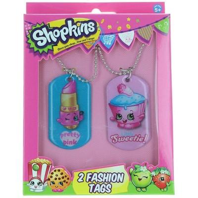 License 2 Play Inc Shopkins 2 Fashion Tags 2-Pack