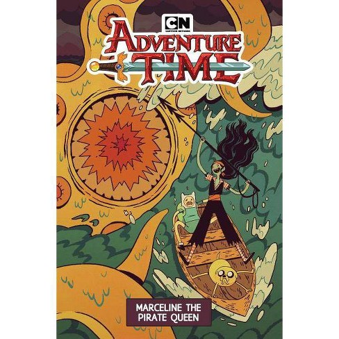 Adventure Time: Marceline the Pirate Queen - by  Leah Williams (Paperback) - image 1 of 1