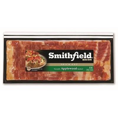 Smithfield Applewood Thick Cut Bacon - 24oz
