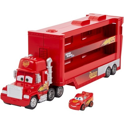 Disney Pixar Cars Mini Racers Mack Transporter