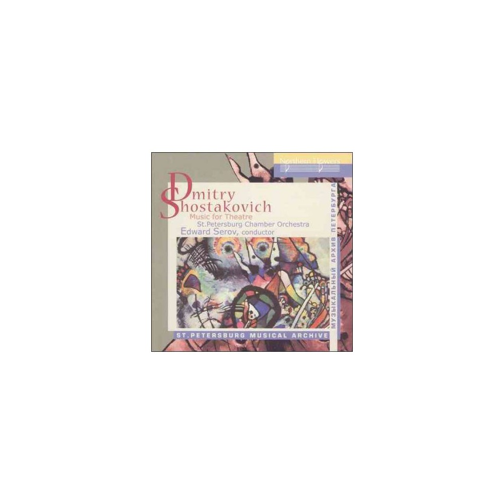 St. Petersburg Chamb - Shostakovich:Music For Theatre (CD)