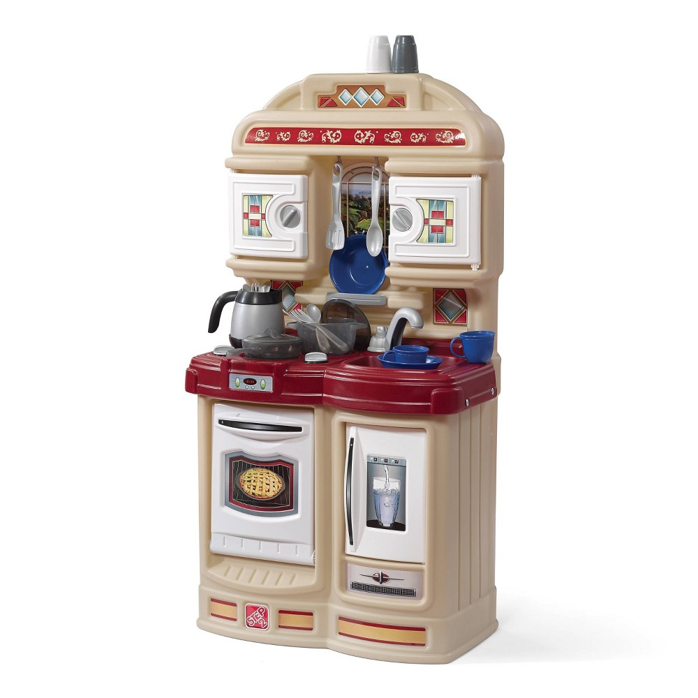 Step2 Cozy Kitchen, Cooking and Dining Toys Your kid can have hours of fun and entertainment in the kitchen with the Cozy Kitchen by Step2. Your kid can think creatively while playing with these toy appliances and accessories. Gender: Unisex.