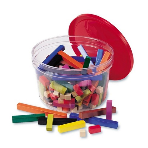 Learning Resources Cuisenaire Rods Small Group Plastic - image 1 of 3