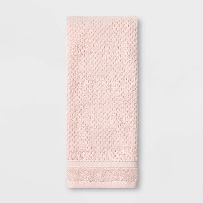 Performance Hand Towel Blush Pink Texture - Threshold™