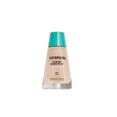 COVERGIRL Clean Sensitive Foundation 505 Ivory 1 fl oz