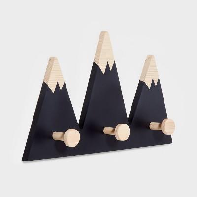 Mountain Hanging Hooks Black - Pillowfort™