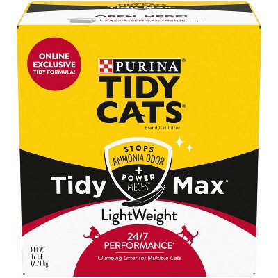 Tidy Cats Max 24/7 Performance Lightweight - 17lb