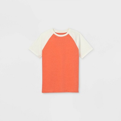 Boys' Short Sleeve T-Shirt - Cat & Jack™ Red/Orange