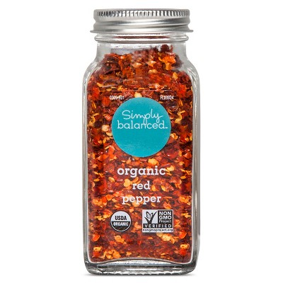Organic Red Pepper - 1.87oz - Simply Balanced™