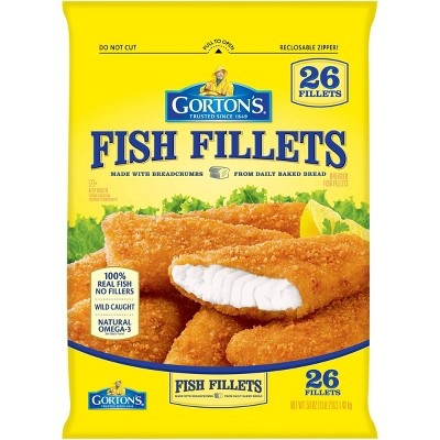 Gorton's Crunchy Breaded Fish Fillets Club Pack - Frozen - 50oz