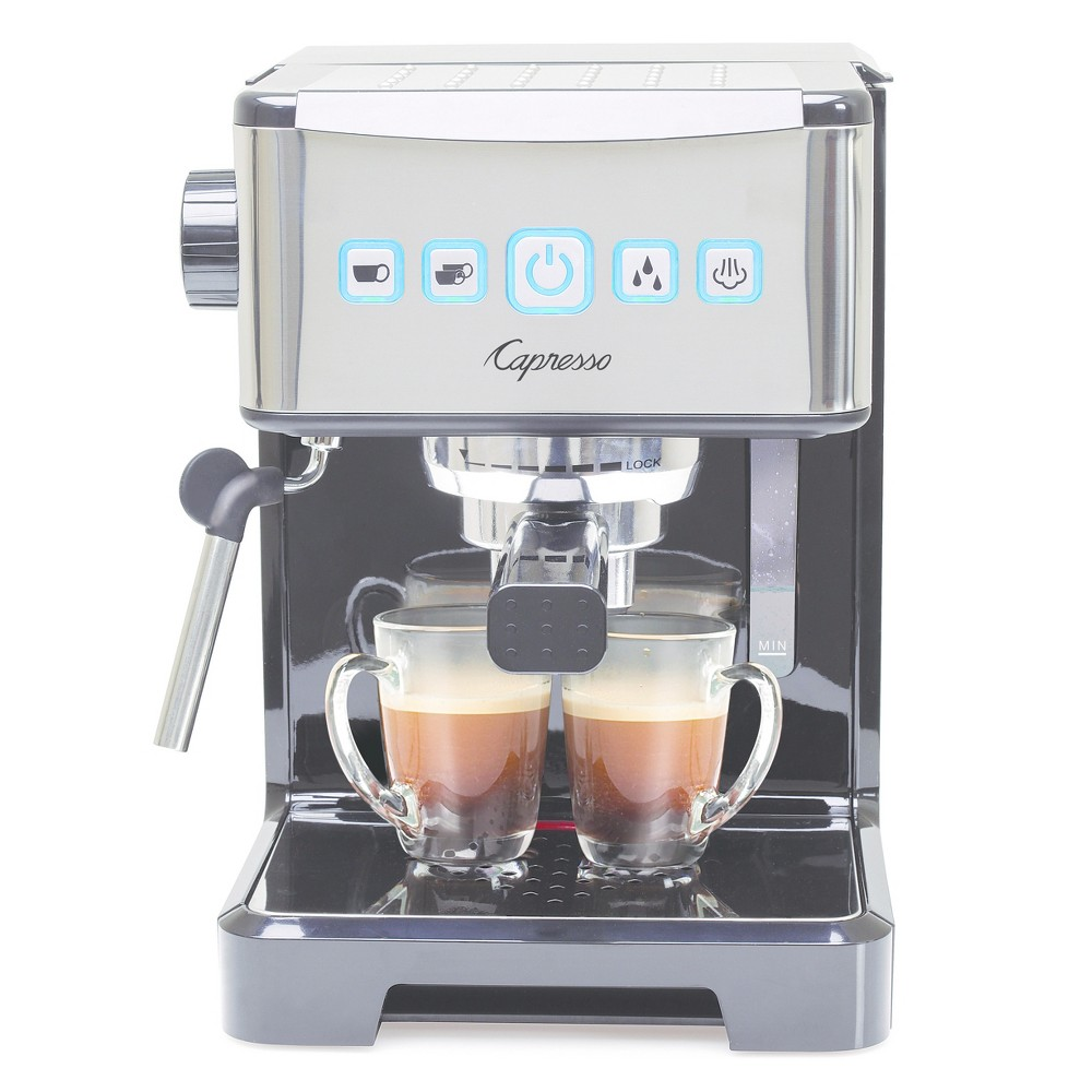 Image of Capresso Ultima PRO Espresso & Cappuccino Machine Stainless Steel 124.01