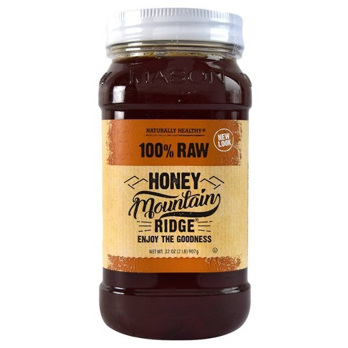 Mountain Ridge Pure Raw Honey - 32oz - image 1 of 3