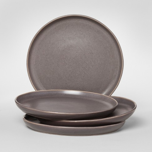 """10.5"""" Tilley Stoneware Dinner Plate Black - Project 62™ - image 1 of 1"""