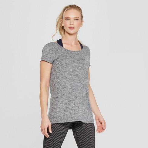 f9ab99ed5 Women's Active T-Shirt - C9 Champion® Black Heather XXL : Target