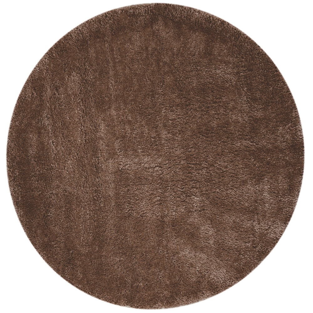 67 Solid Loomed Round Area Rug Mushroom - Safavieh Compare