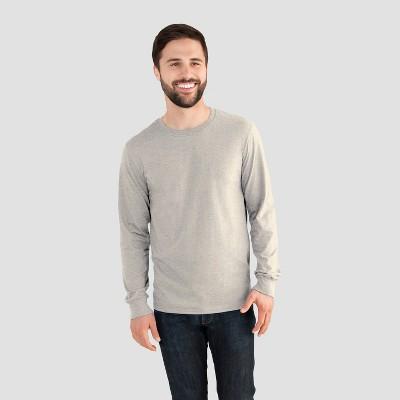 68256da0c3eb5 Fruit of the Loom Men s Long Sleeve T-Shirt – Oatmeal Heather L ...