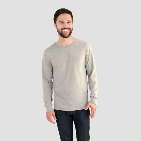 023124a60 Fruit Of The Loom Men s Long Sleeve T-Shirt -...   Target